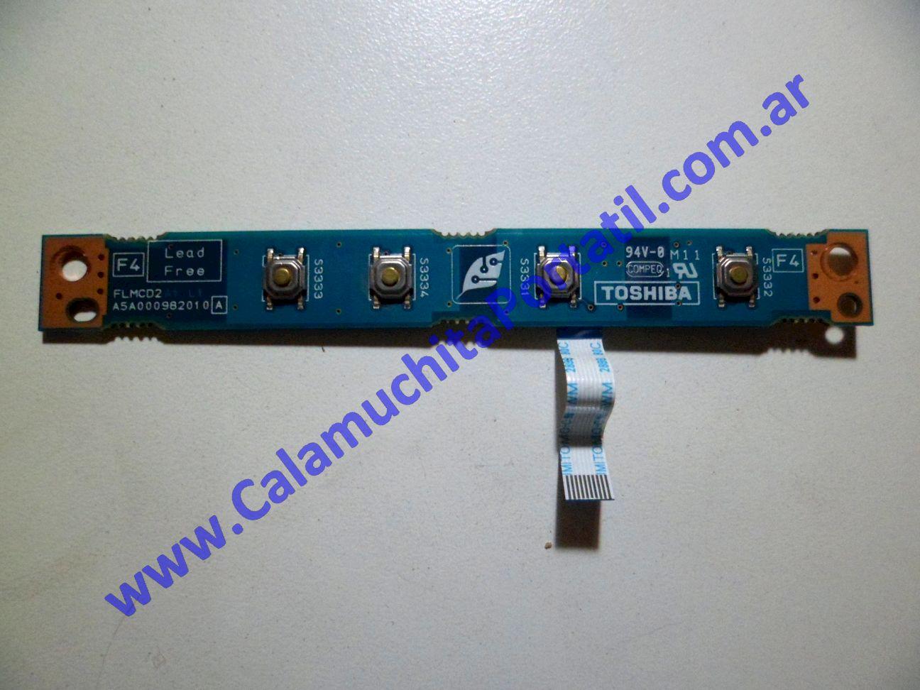 0058PEN Placa Encendido Toshiba Satellite A40-SP151