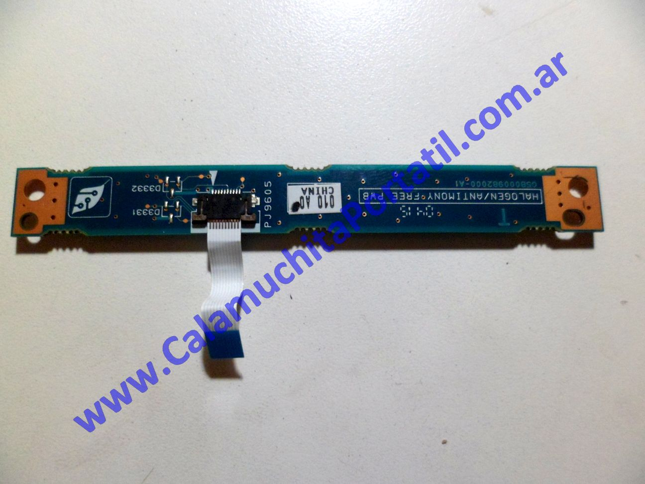 0058PEN Placa Encendido Toshiba Satellite A40-SP151