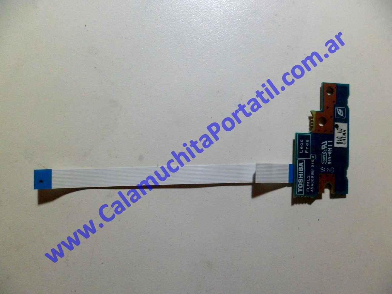 0058PLE Placa Leds Toshiba Satellite A40-SP151