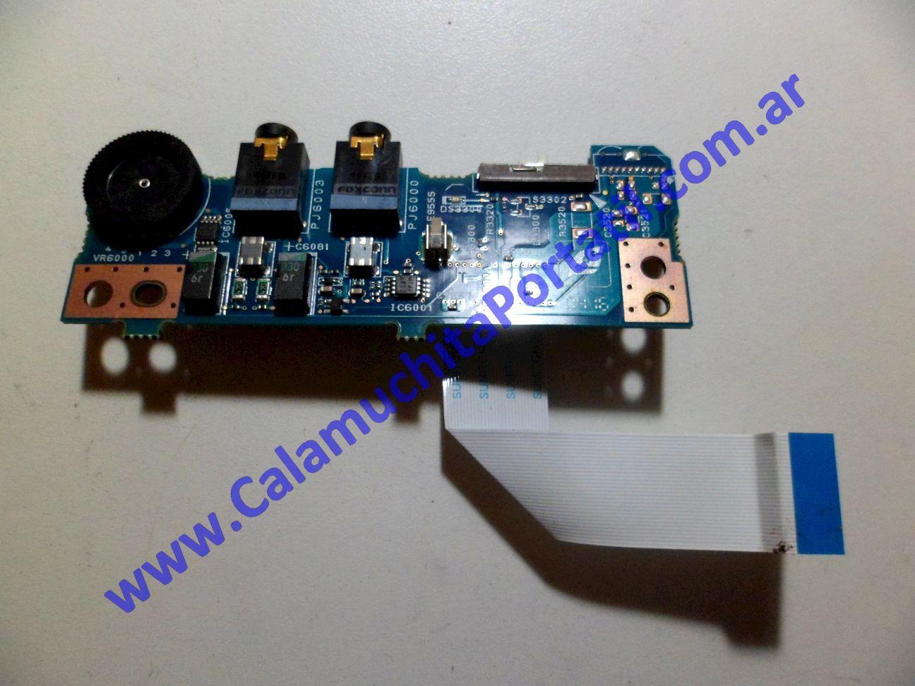 0058PSO Placa Sonido Toshiba Satellite A40-SP151