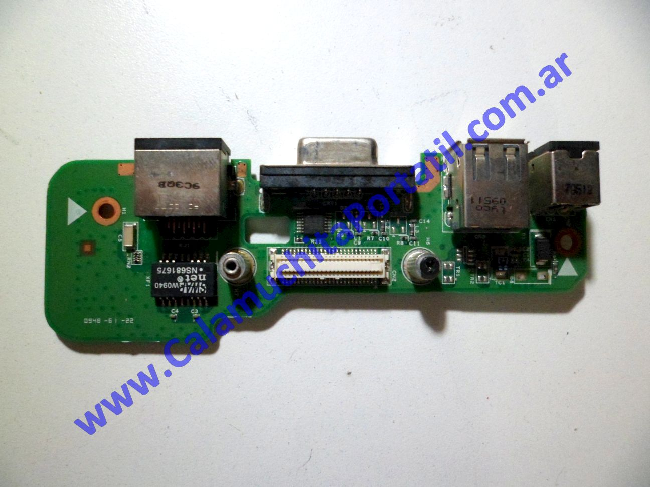0063JPO Conector Power Dell Inspiron 1546