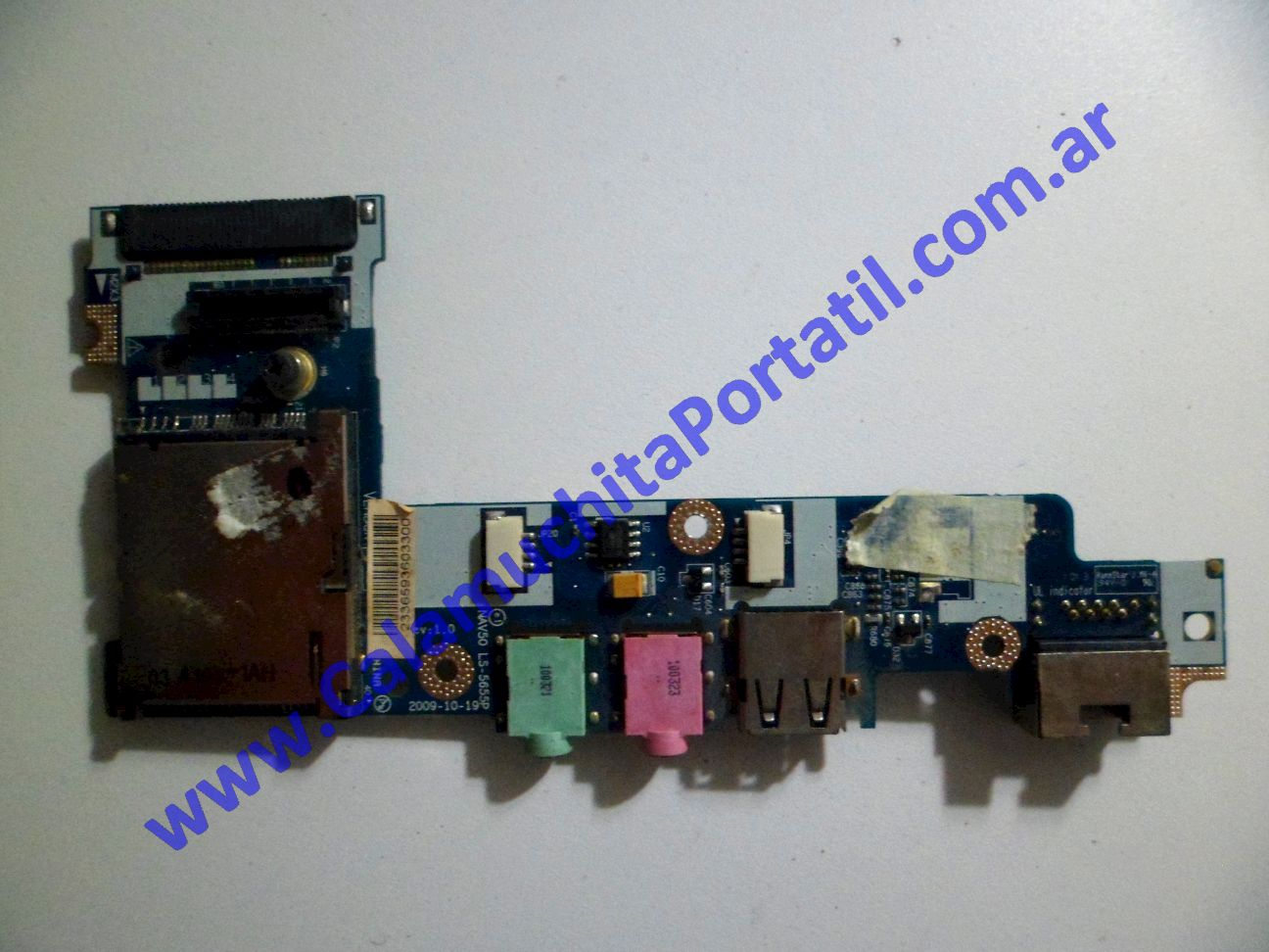 0075PUS Placa USB Acer Aspire One 532… / NAV50
