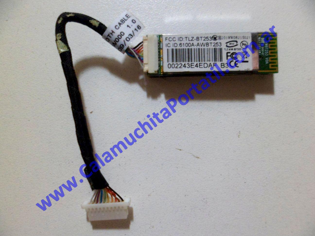 0076PBL Placa Bluetooth Asus Eee PC 1000HE