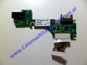 0079JPO Conector Power Compaq Mini 102