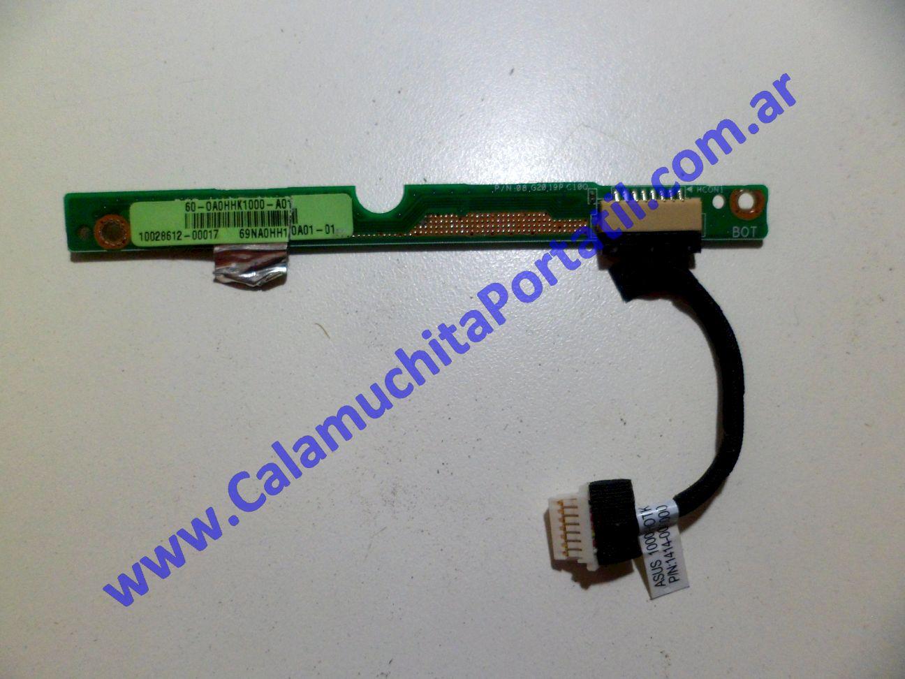 0085PAU Placa Auxiliar Asus Eee PC 1000HE Azul