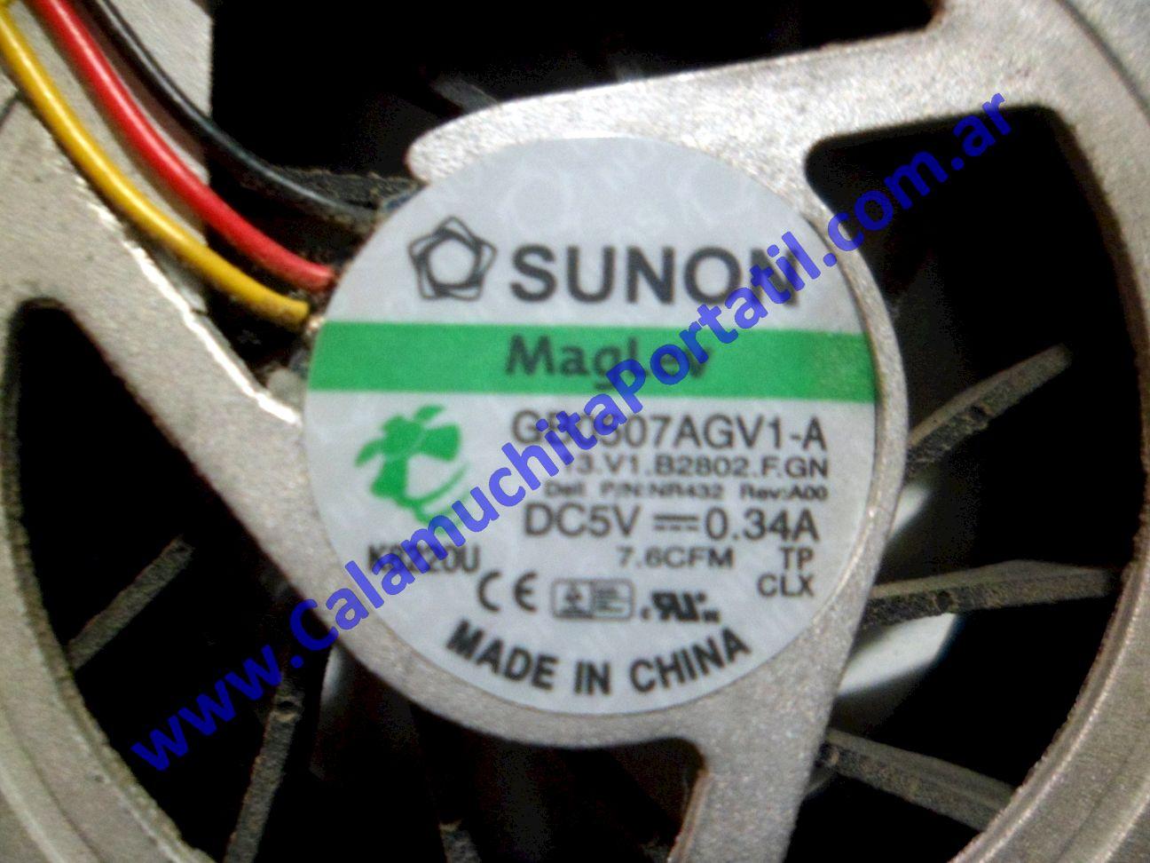 0087VDA Cooler C/Disipador Dell Inspiron 1420