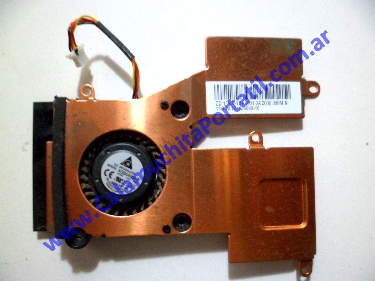 0088VDA Cooler C/Disipador Asus Eee PC 1005HA