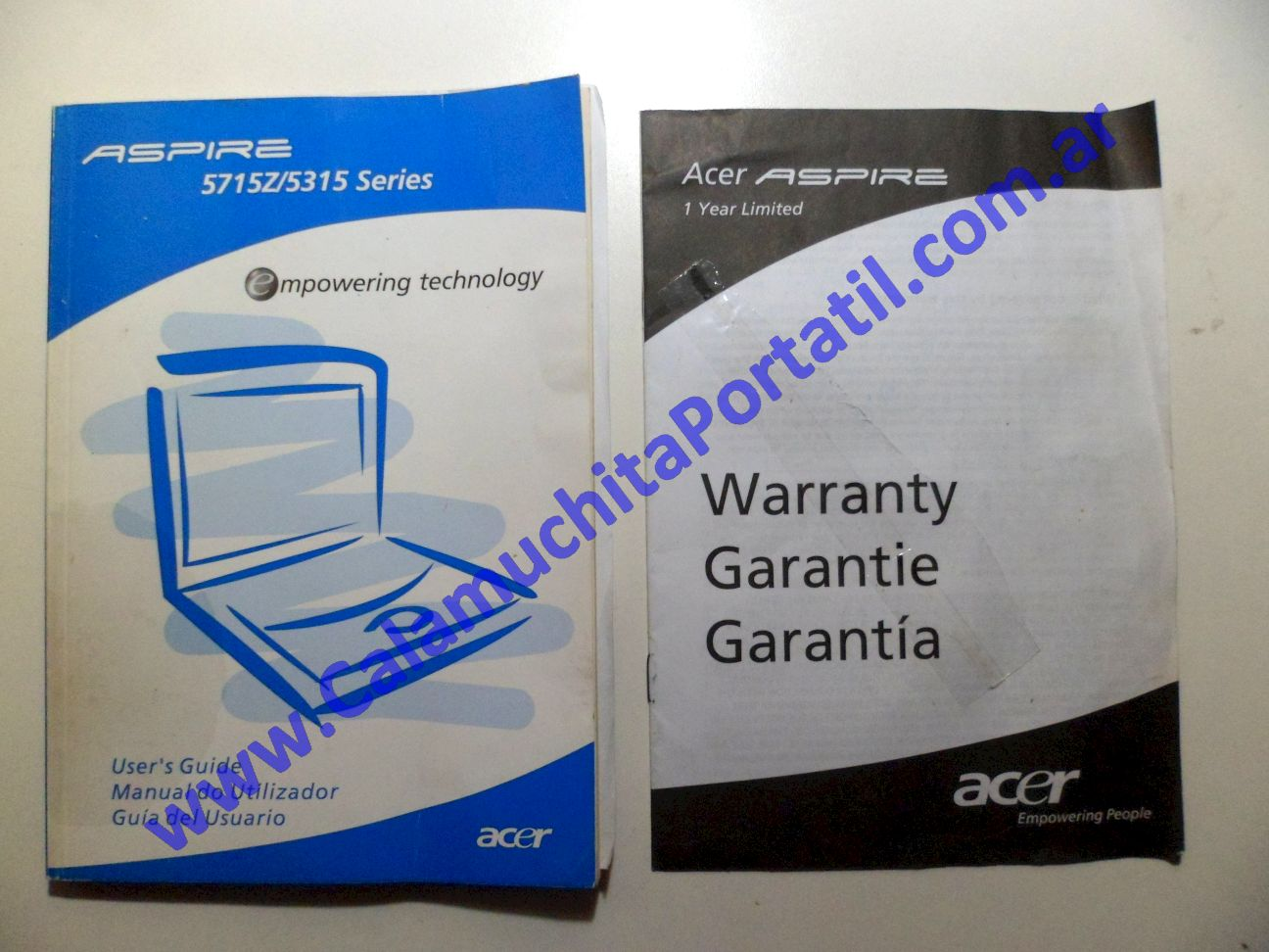 0089AMA Manual Acer Aspire 5315-2585 / ICL50