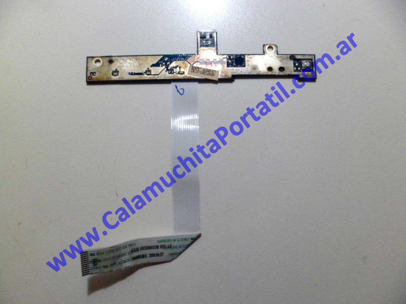 0089PLE Placa Leds Acer Aspire 5315-2585 / ICL50