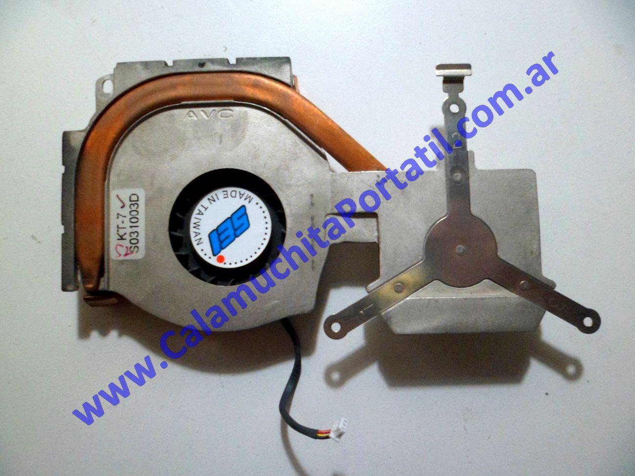 0091VDA Cooler C/Disipador Compaq Presario 2100 / 2190US