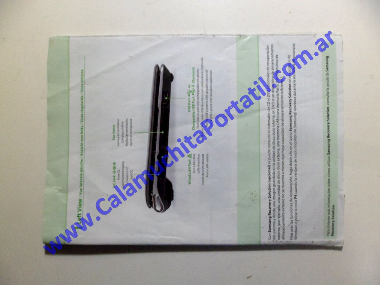 0102AMA Manual Samsung NC110 / NP-NC110