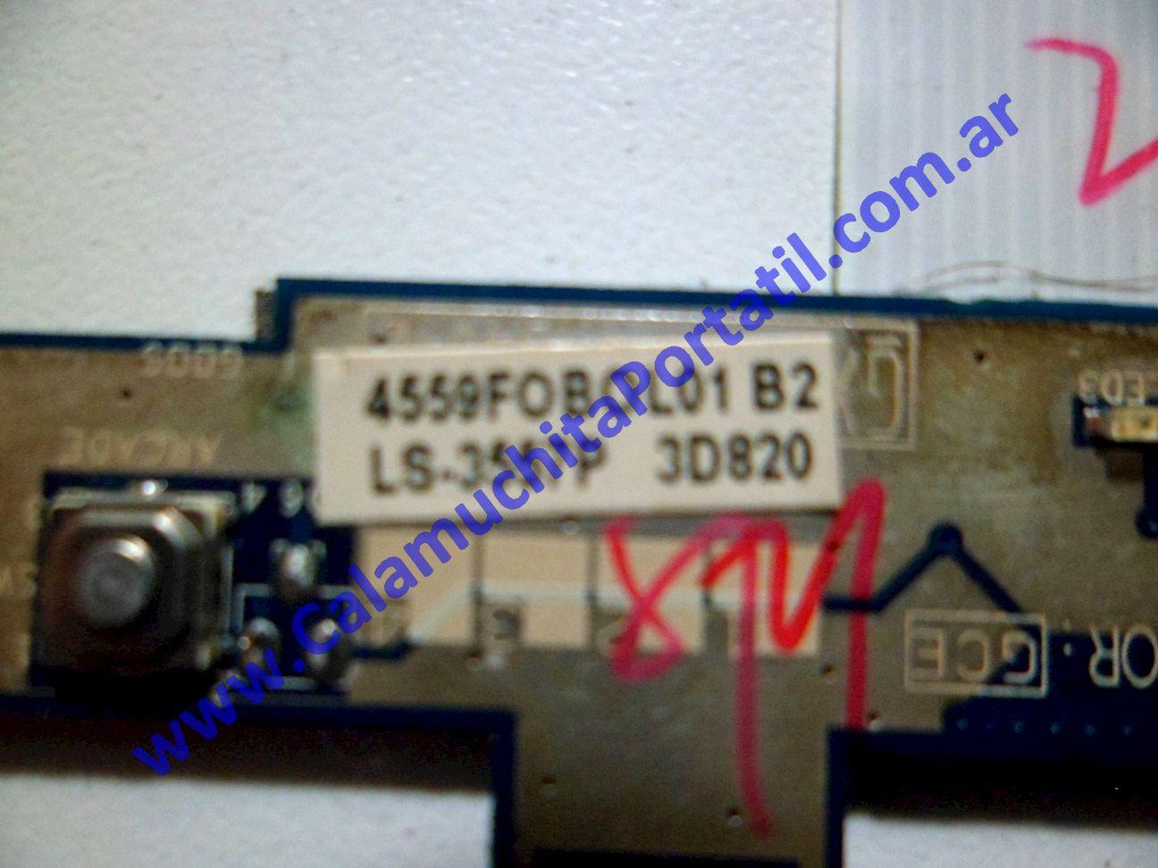 0105PLE Placa Leds Acer Aspire 5720-4794 / ICL50