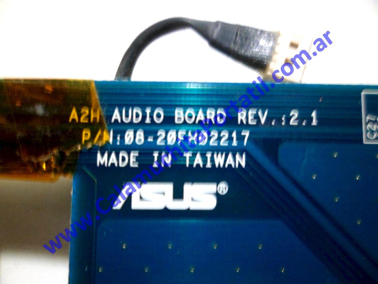 0106PSO Placa Sonido Asus A2500H