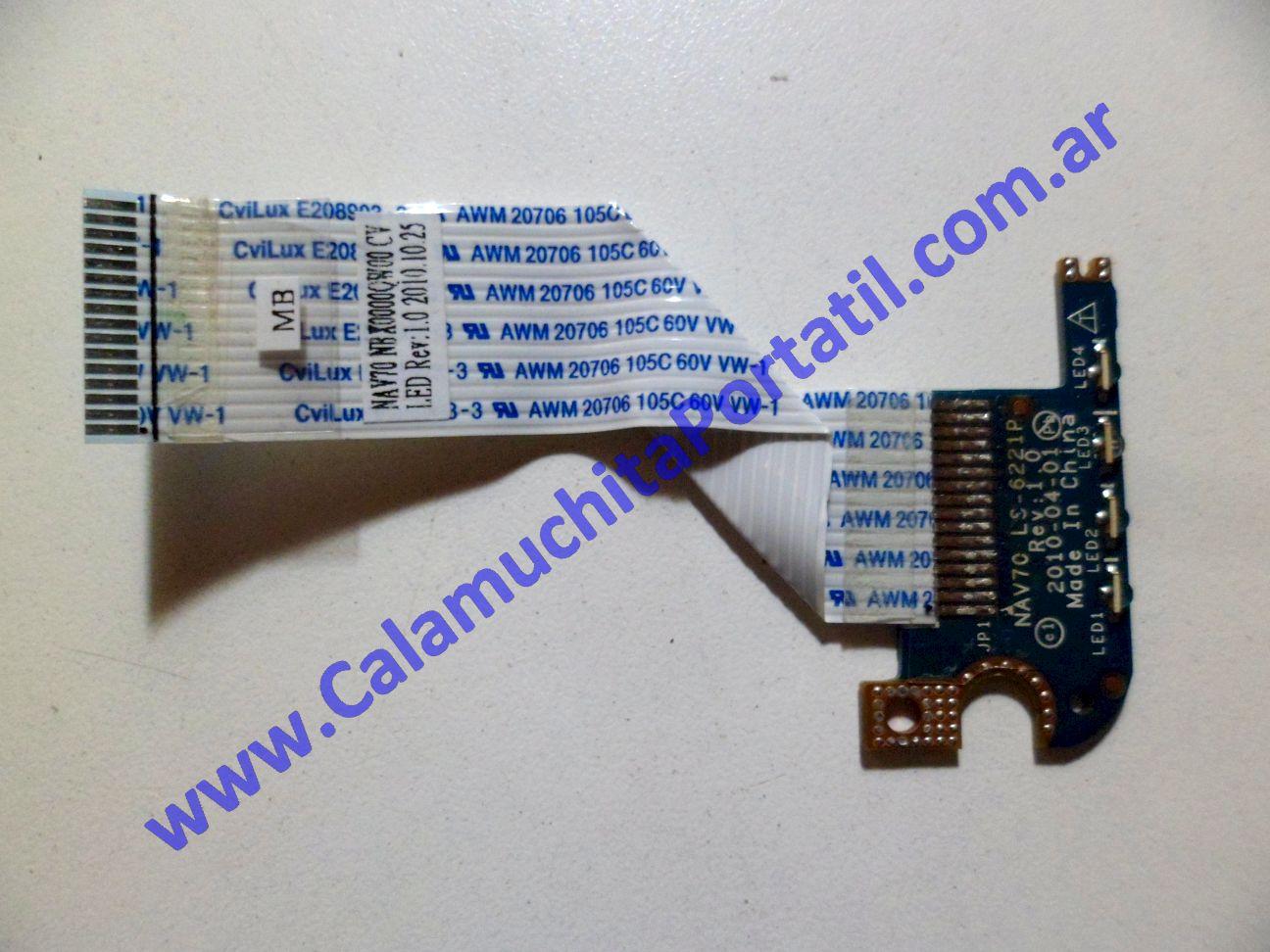 0108PLE Placa Leds Acer Aspire One D255-2256 / PAV70