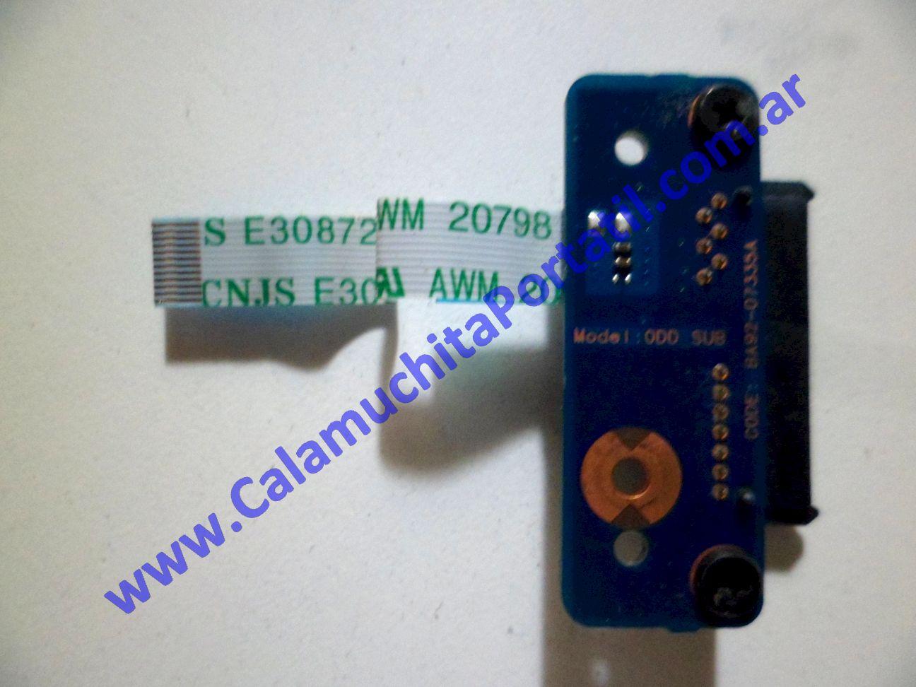 0113JOP Conector Optico Samsung RV511 / NP-RV511