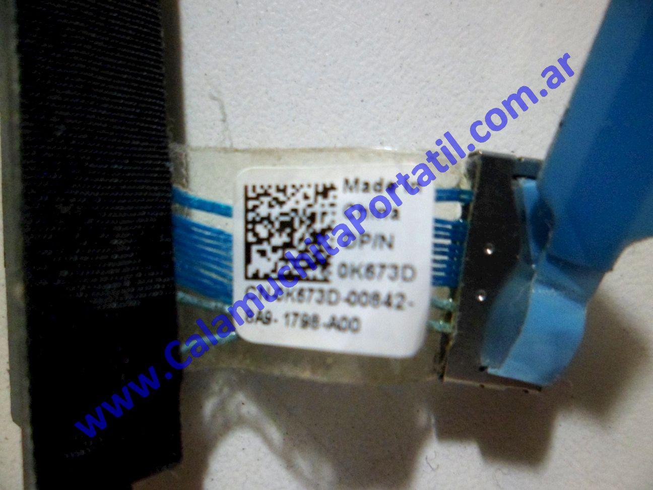 0127JRI Conector Rígido Dell Studio 1535 / PP33L