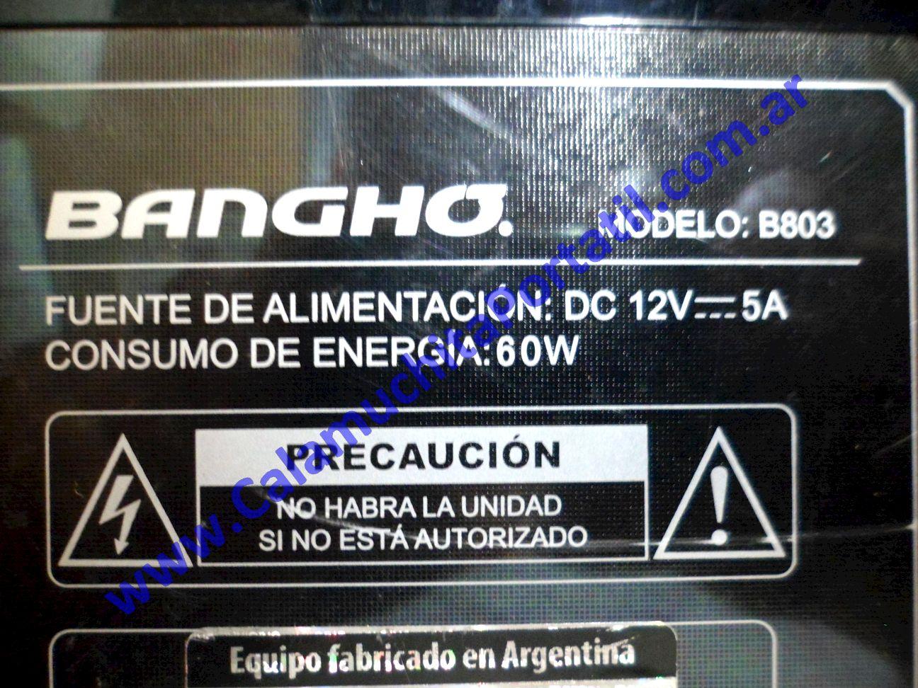 0134COA Carcasa Otra Banghó B803