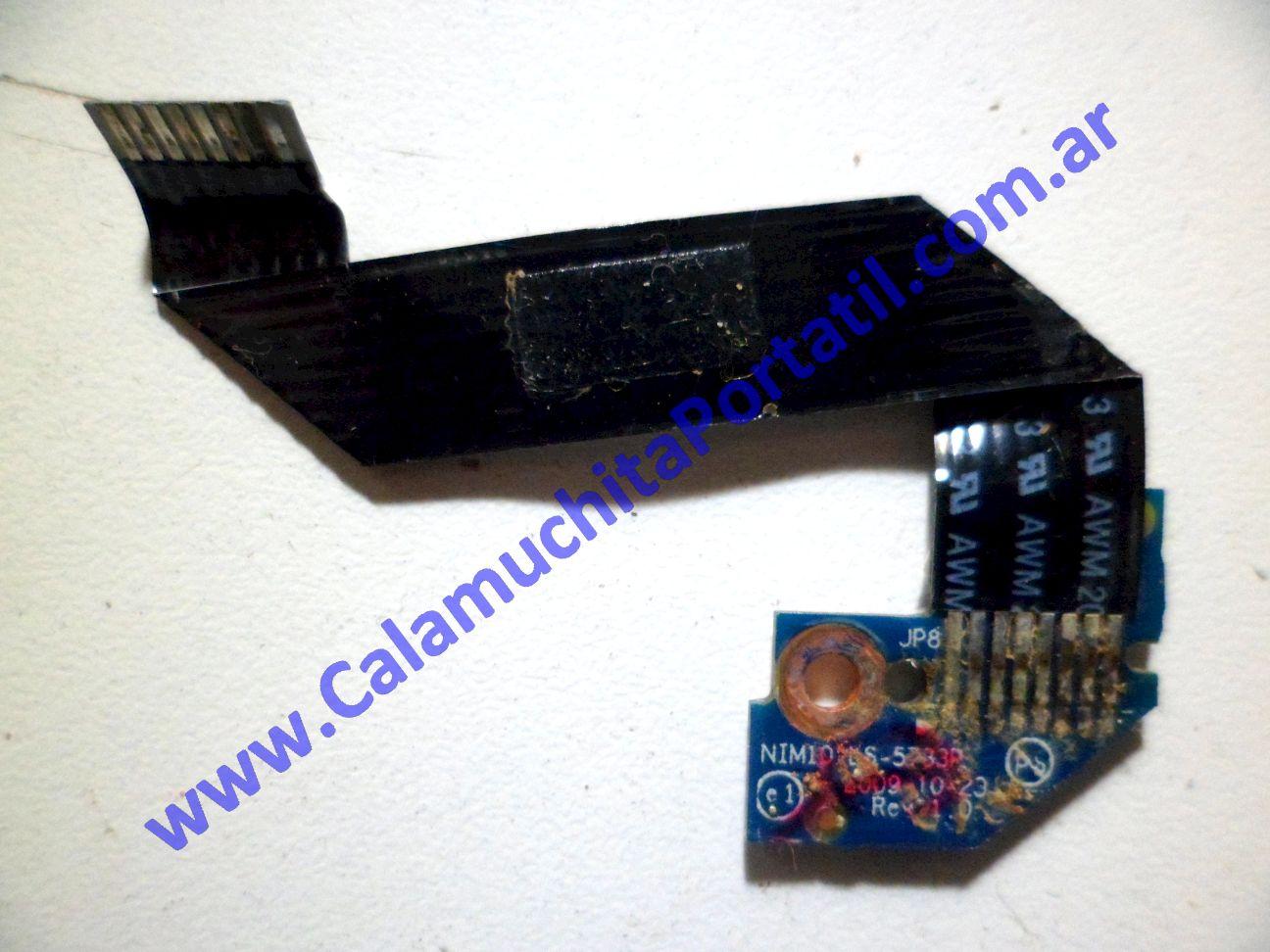 0146PLE Placa Leds Dell Inspiron Mini 1012 / P04T
