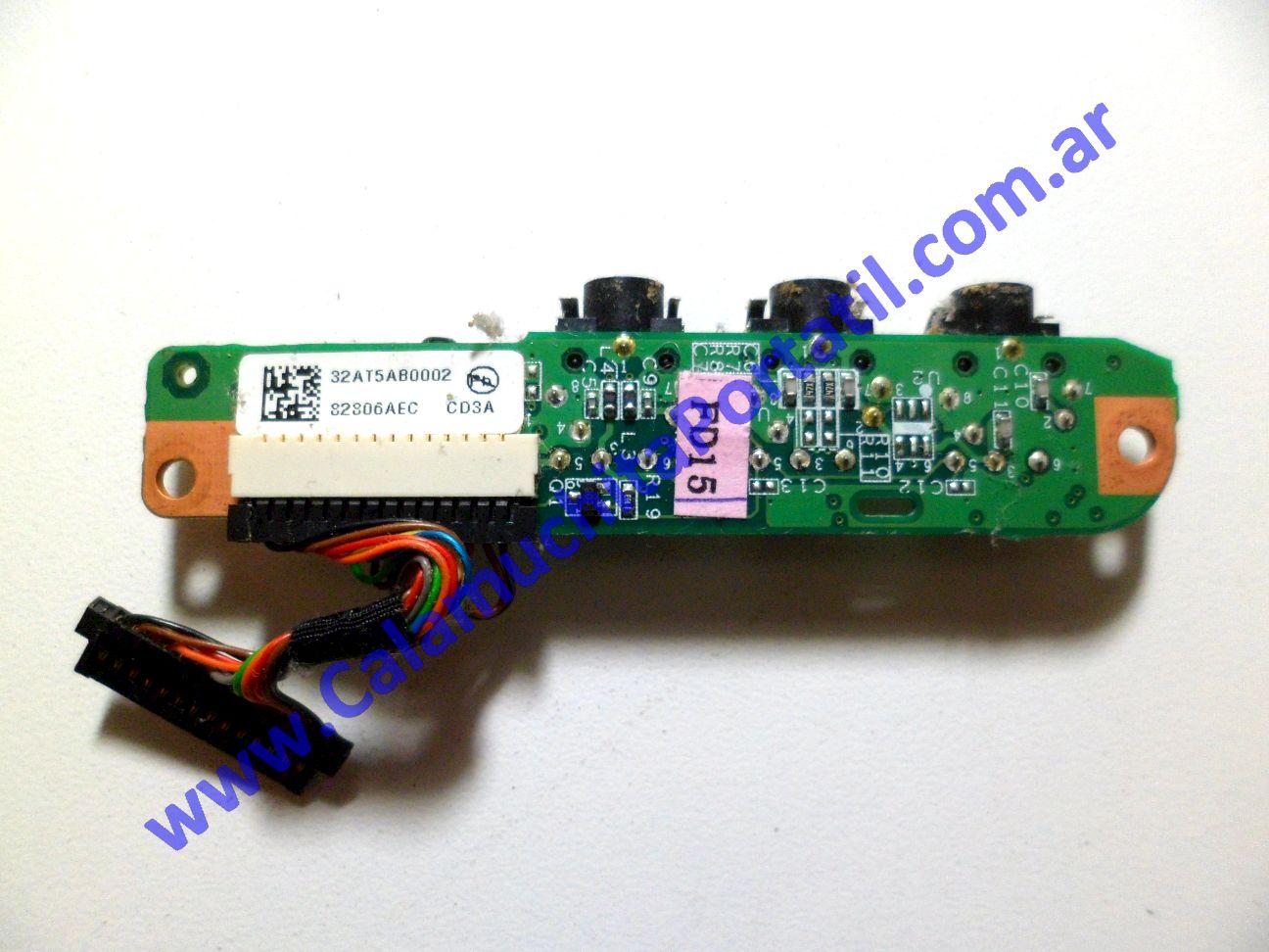 0165PSO Placa Sonido Hewlett Packard Pavilion DV9000 / DV9913CL