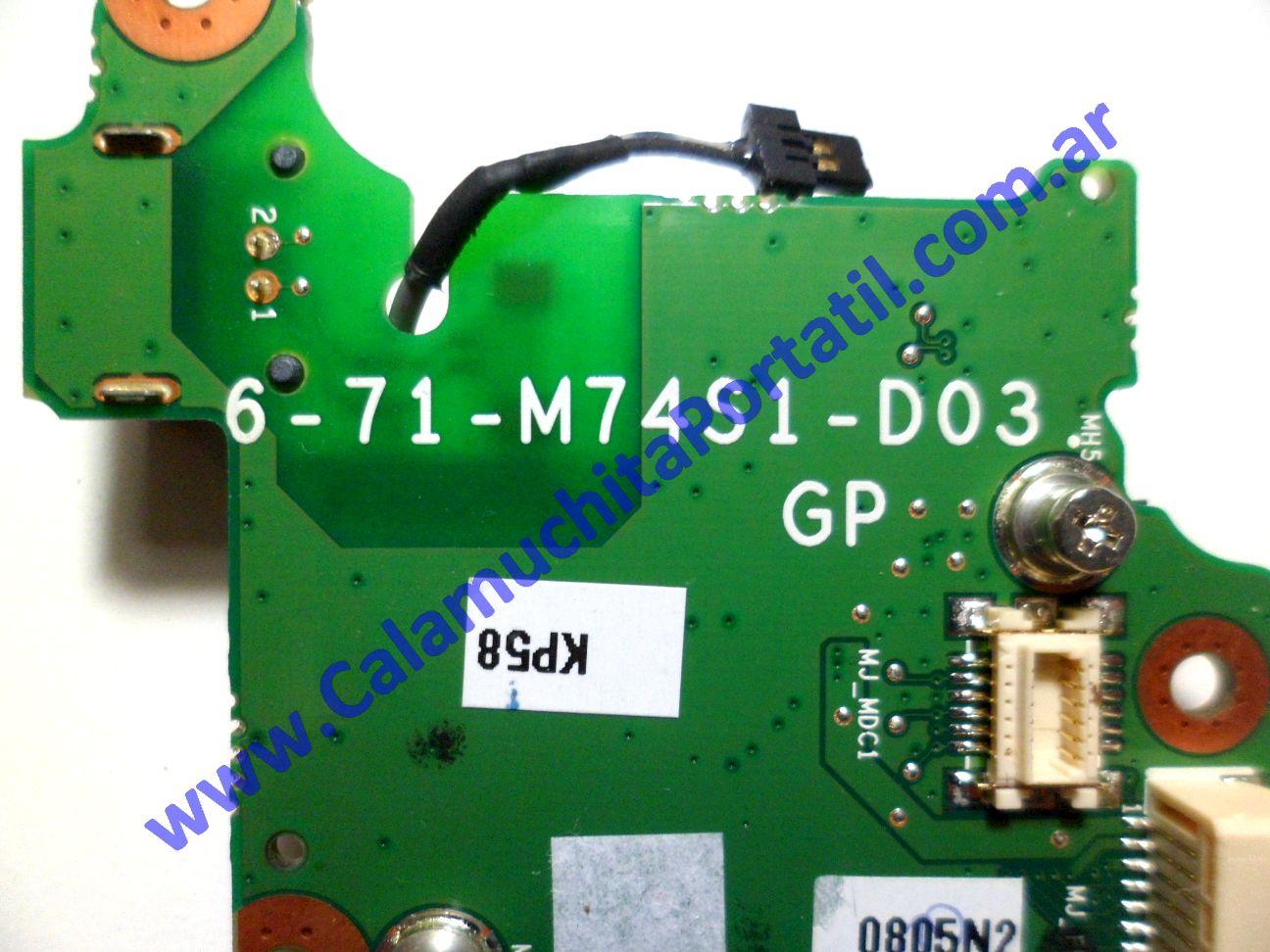 0167POT Placa Otra Banghó B-763XS