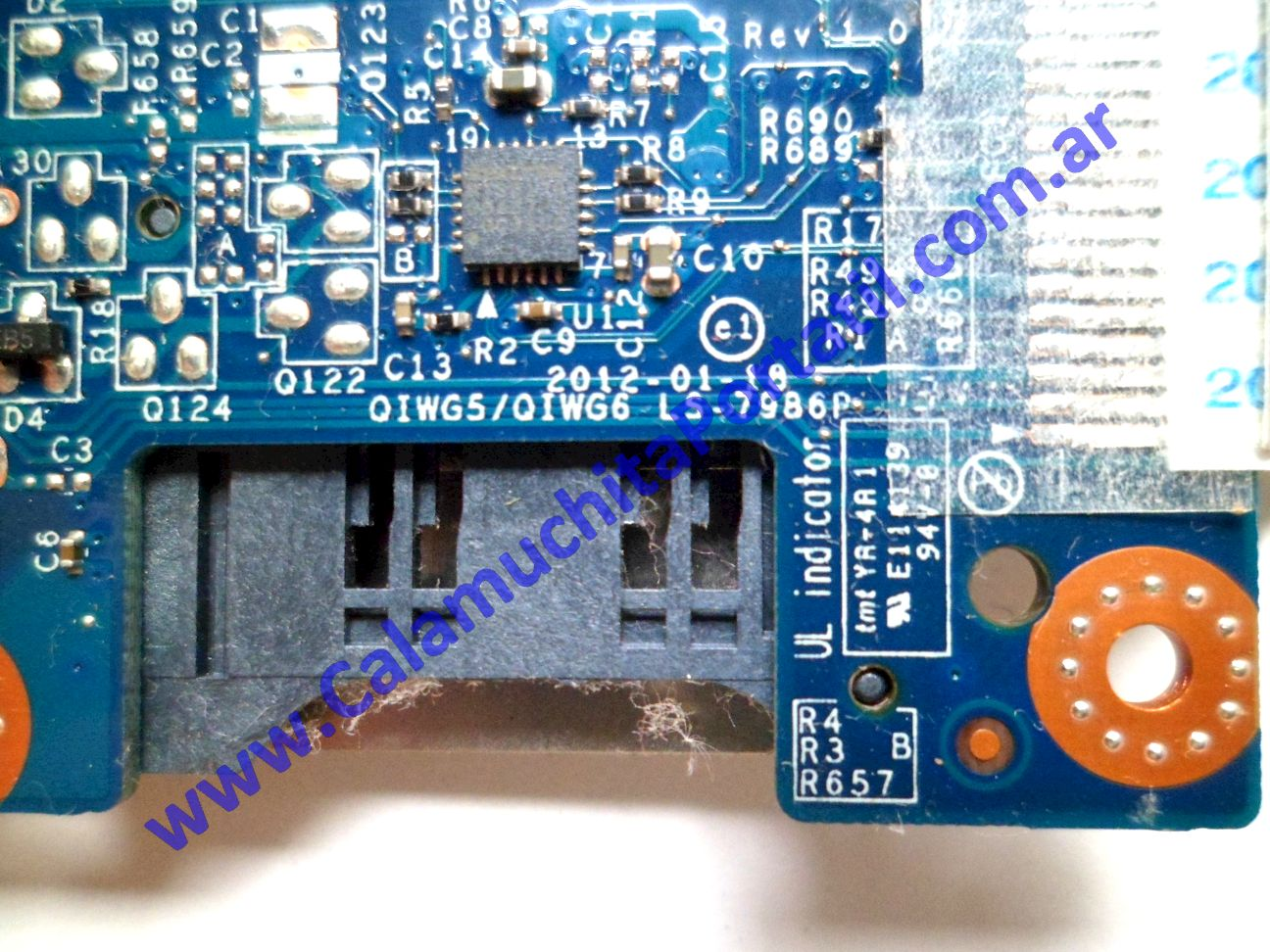 0174PCR Placa CardReader Lenovo G485 / 20136