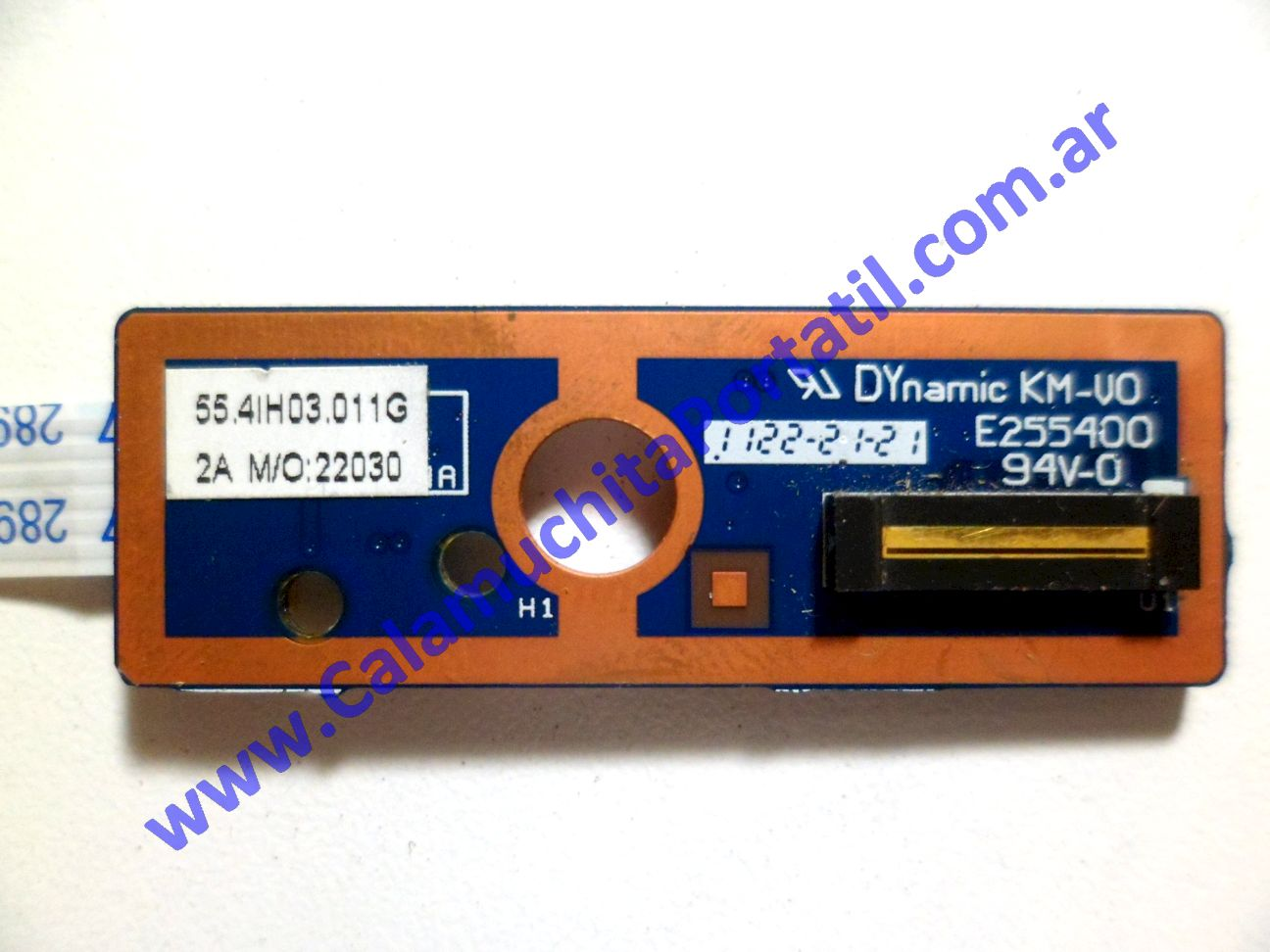 0177PFP Placa FingerPrint Lenovo B570 / 20083