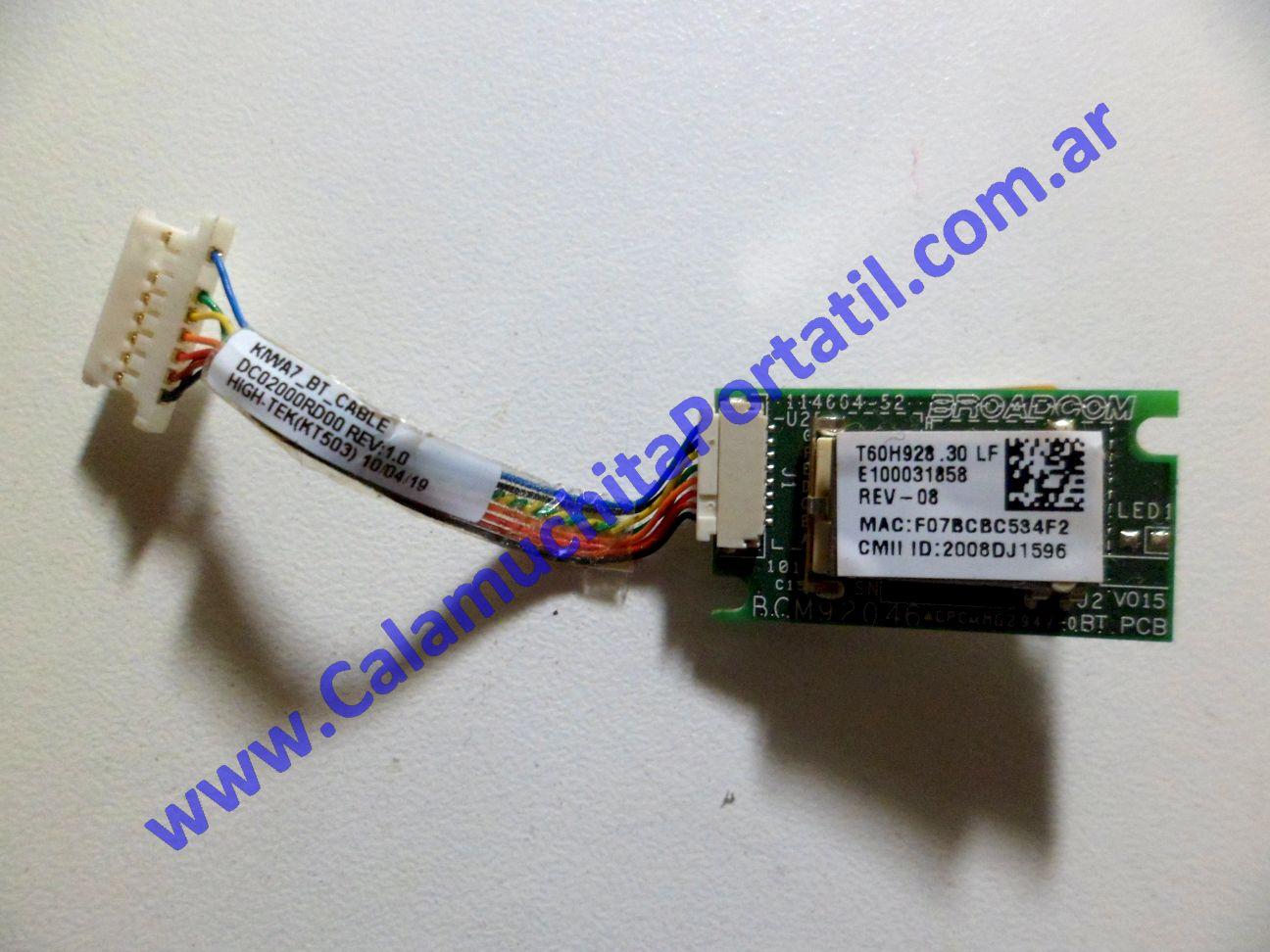 0179PBL Placa Bluetooth Lenovo G555 / 0873