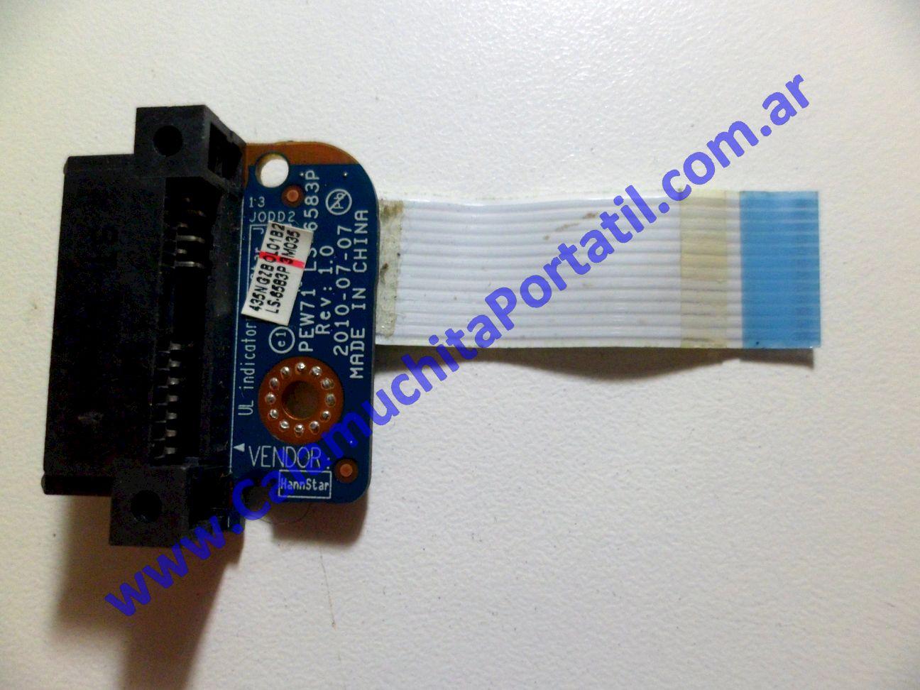 0190JOP Conector Optico Acer Aspire 5552-5205 / PEW76