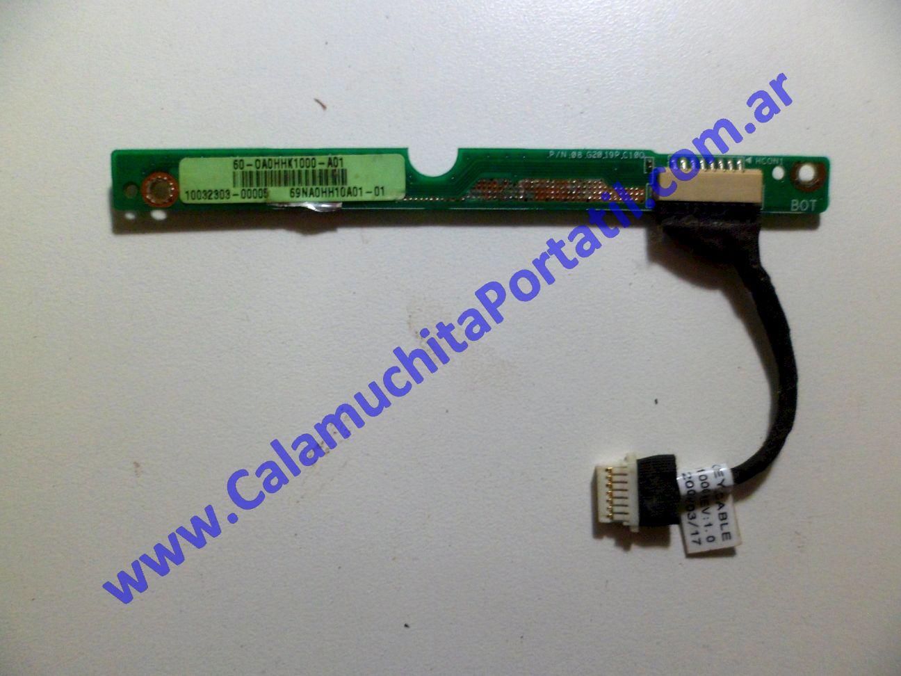 0193PAU Placa Auxiliar Asus Eee PC 1000HD