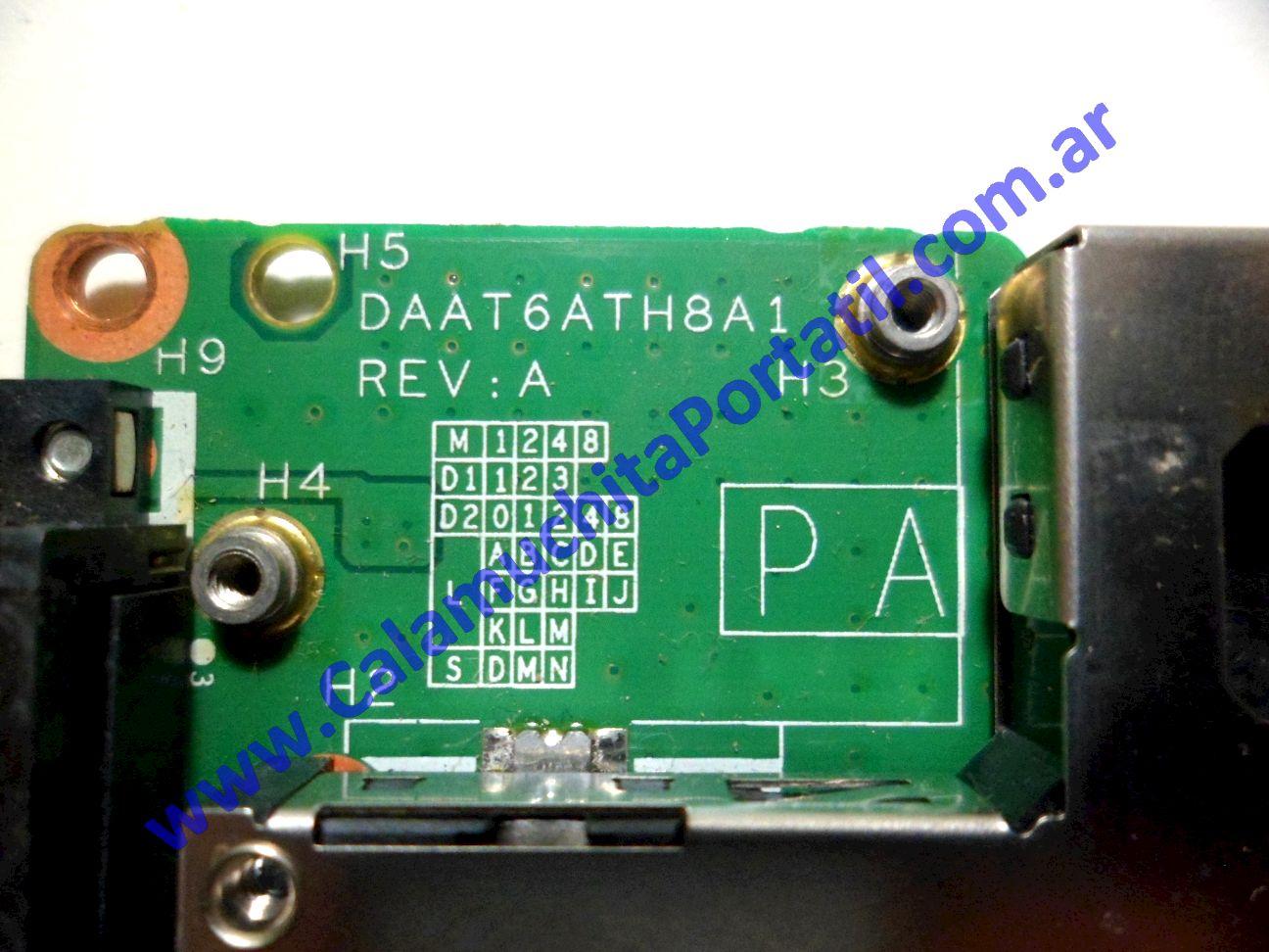 0201PPC Placa PCMCIA Hewlett Packard Pavilion dv6000 / dv6815nr