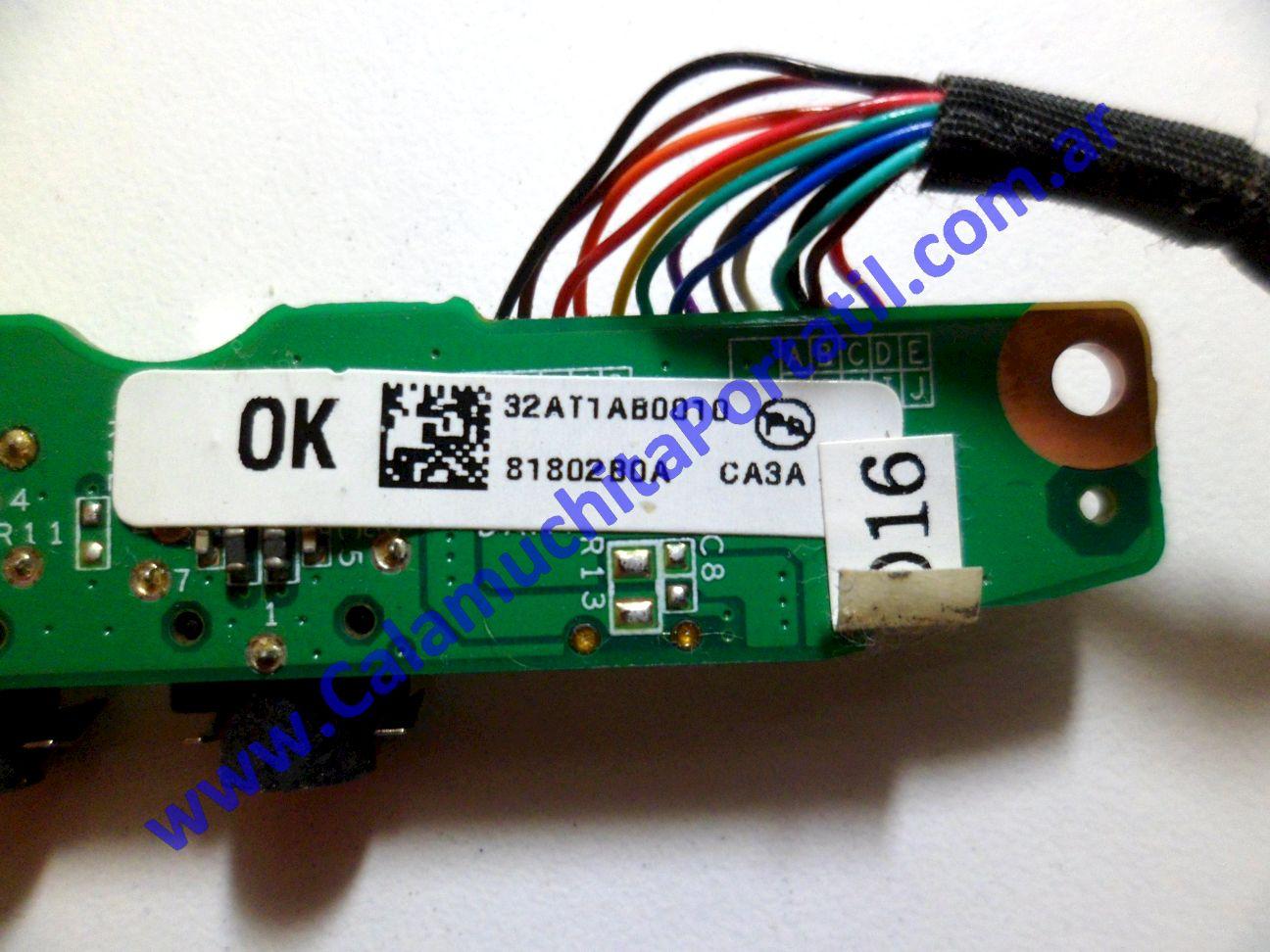 0214PSO Placa Sonido Compaq Presario F700 / F755LA
