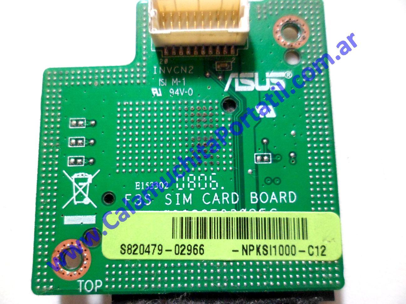 0220PSI Placa Sim Asus X53S / X53SG-AP058C