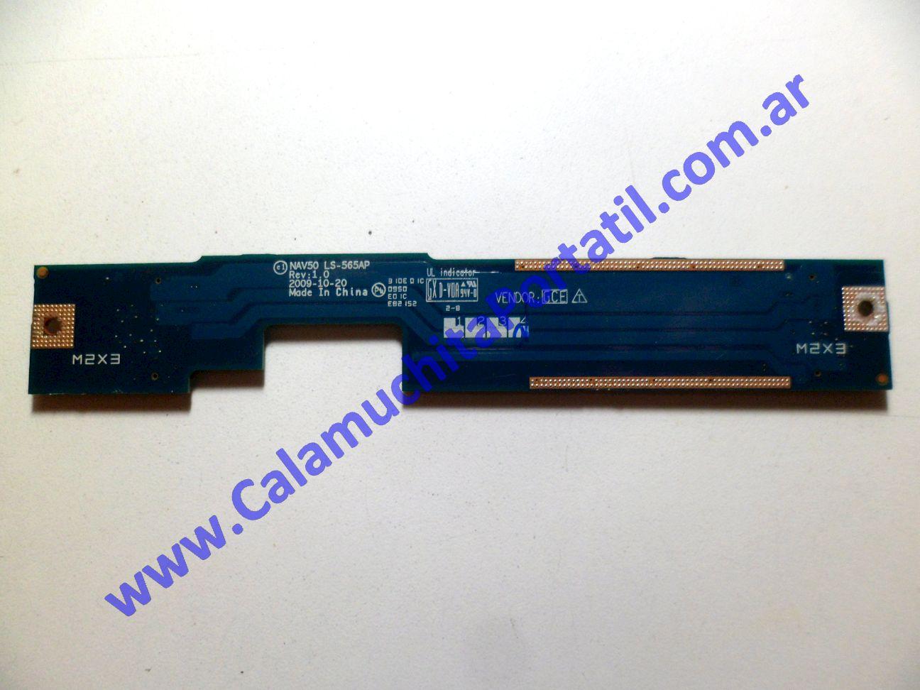 0227POT Placa Otra Acer Aspire One 532H-2268 / NAV50