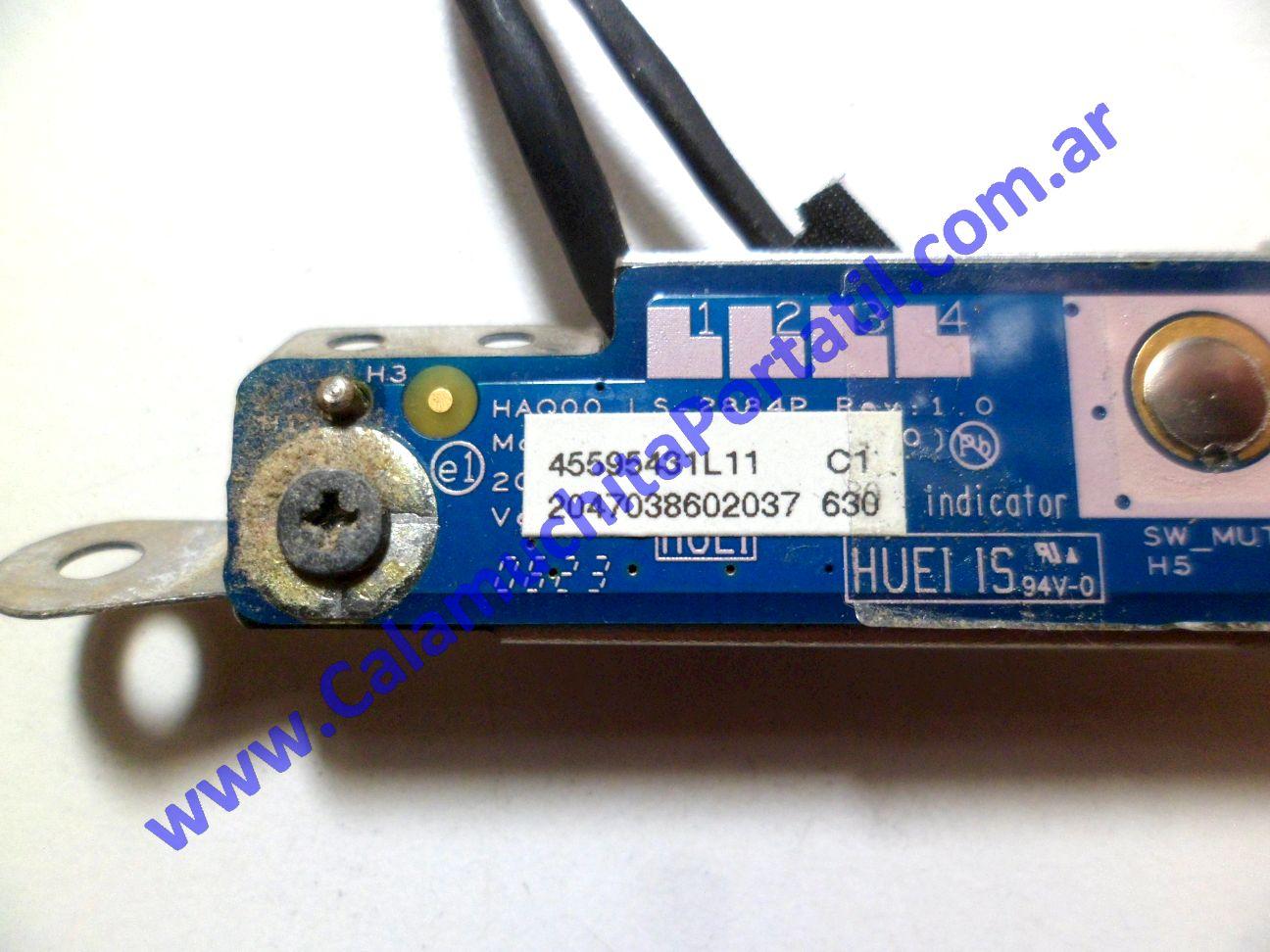 0234PAU Placa Auxiliar Dell Inspiron 9400 / PP05XB
