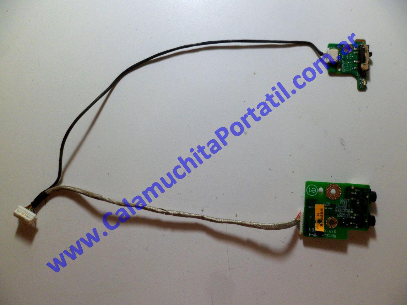 0240PAU Placa Auxiliar Dell Vostro 1700 / PP22X