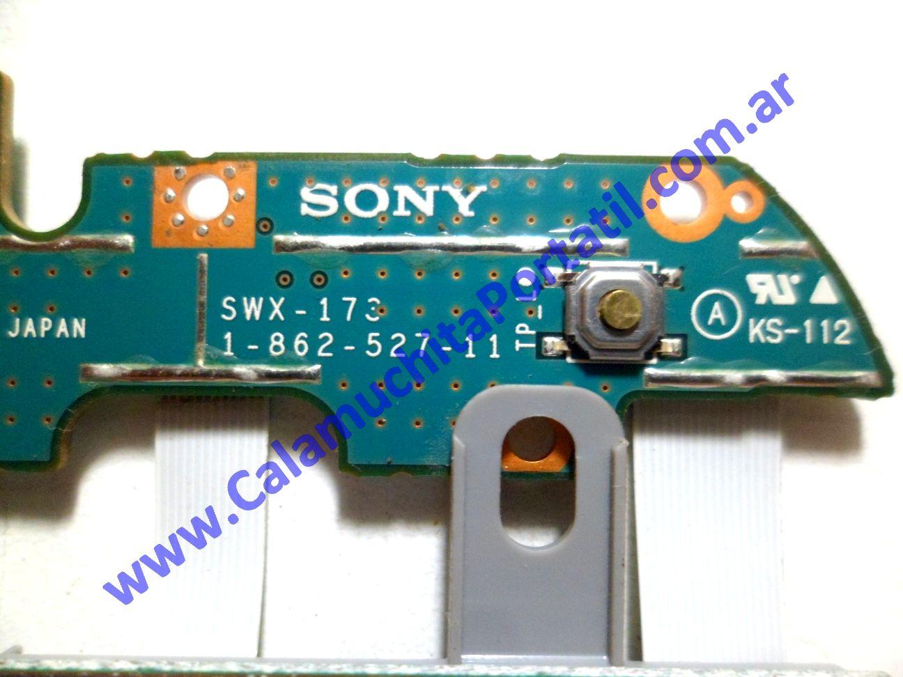 0258CTO Carcasas Touchpad Sony Vaio VGN-S370F / PCG-6F8P