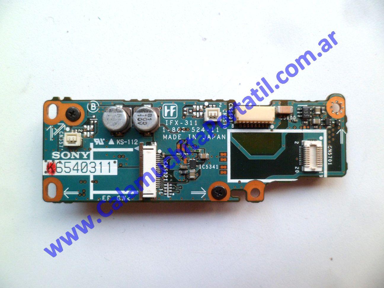 0258POT Placa Otra Sony Vaio VGN-S370F / PCG-6F8P