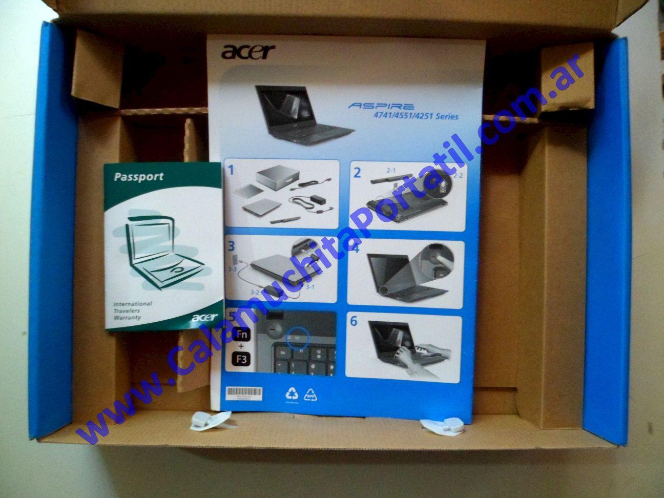 0276ACA Caja Acer Aspire 4551-2522 / MS2307