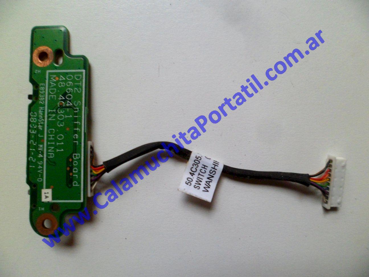 0283XIW Interruptor Wifi Dell XPS M1330 / PP25L