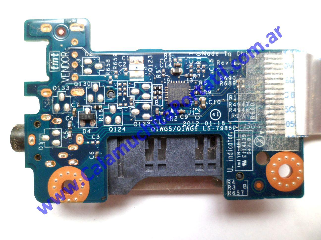0289PCR Placa CardReader Lenovo G485 / 20136
