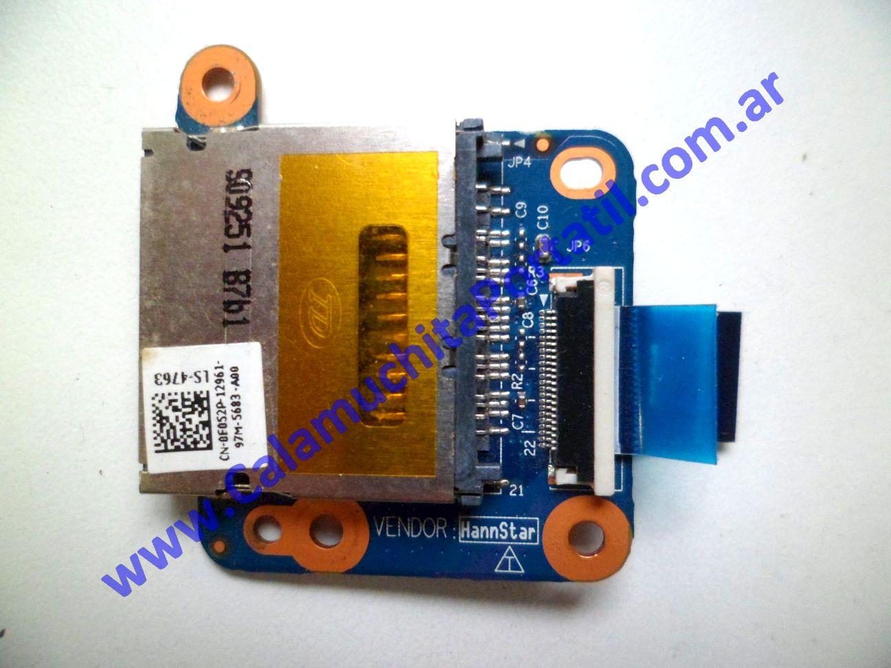 0323PCR Placa CardReader Dell Inspiron Mini 10 D50
