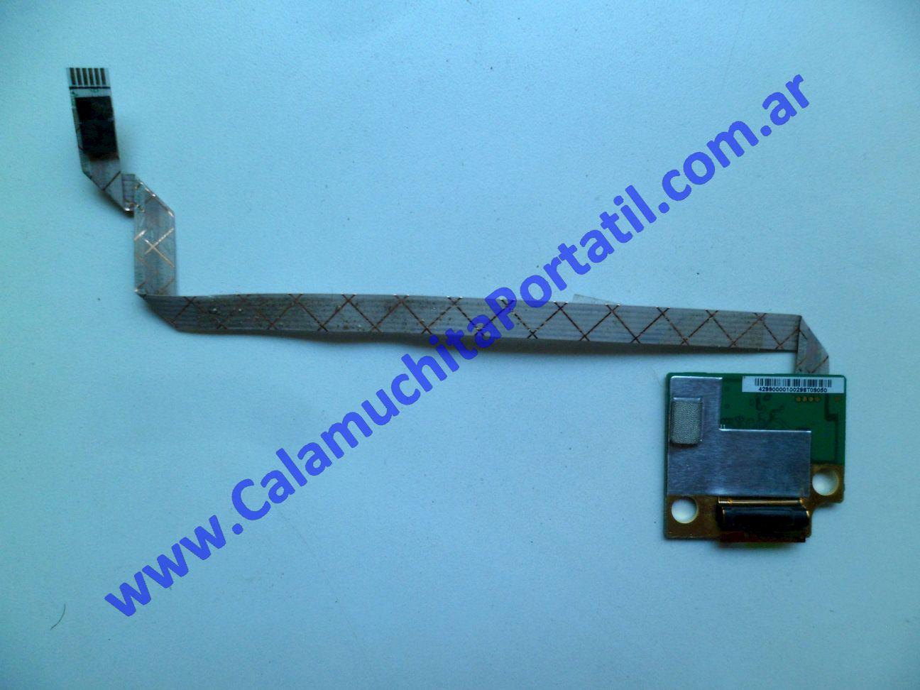 0330PFP Placa FingerPrint Hewlett Packard Pavilion dv4-2013la / VS604LA#AC8