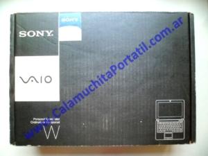 0342ACA Caja Sony Vaio VPCW120AL / PCG-4V1U