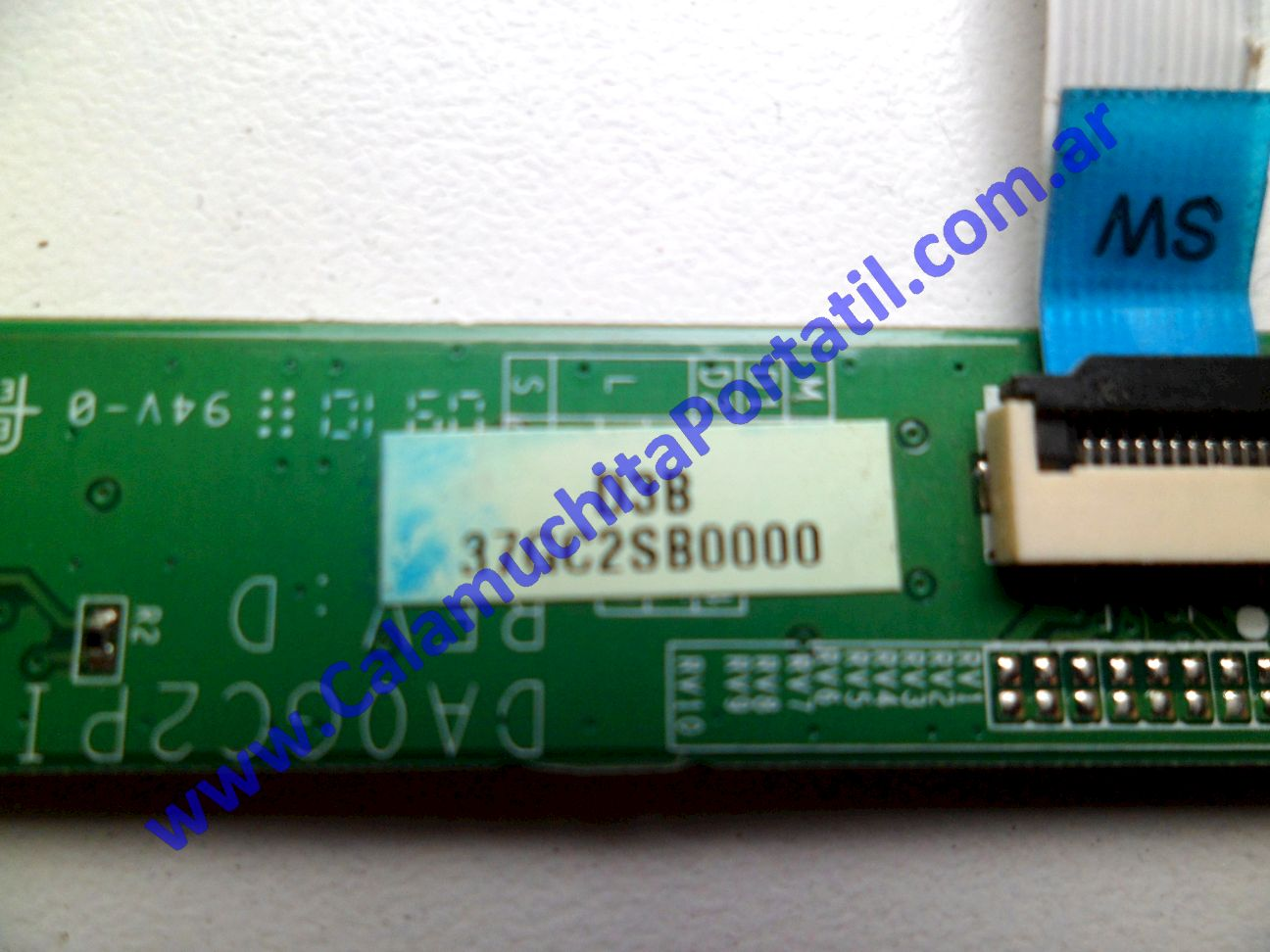 0390PAU Placa Auxiliar Lenovo Thinkpad SL410 / 2842-A57 / 60Y4204