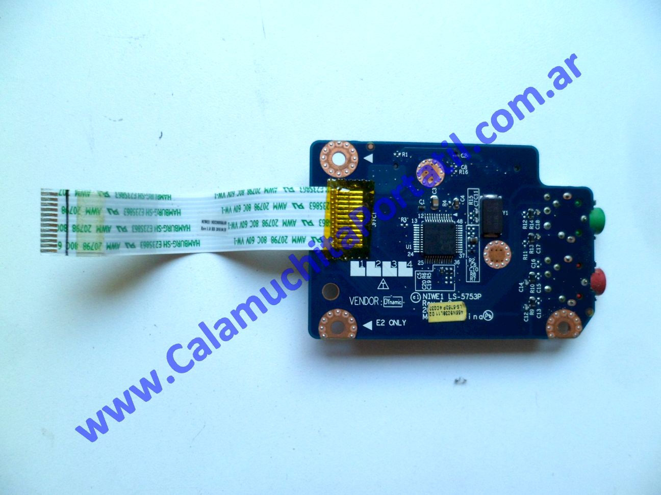0394PCR Placa CardReader Lenovo G465 / 4382