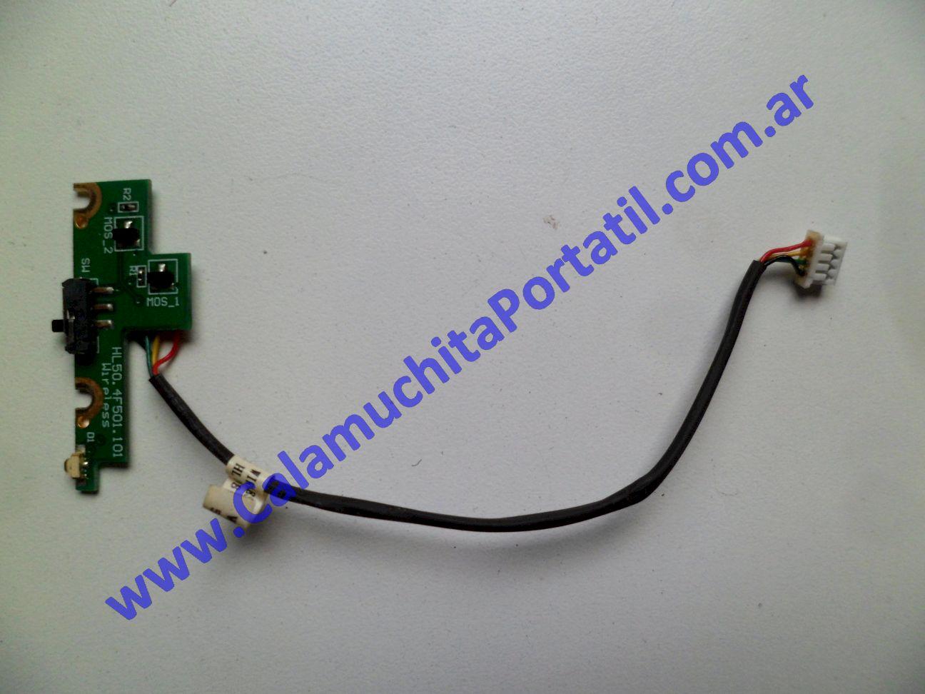 0405XIW Interruptor Wifi Compaq Presario v3500 / V3718la / KK976LA#AC8