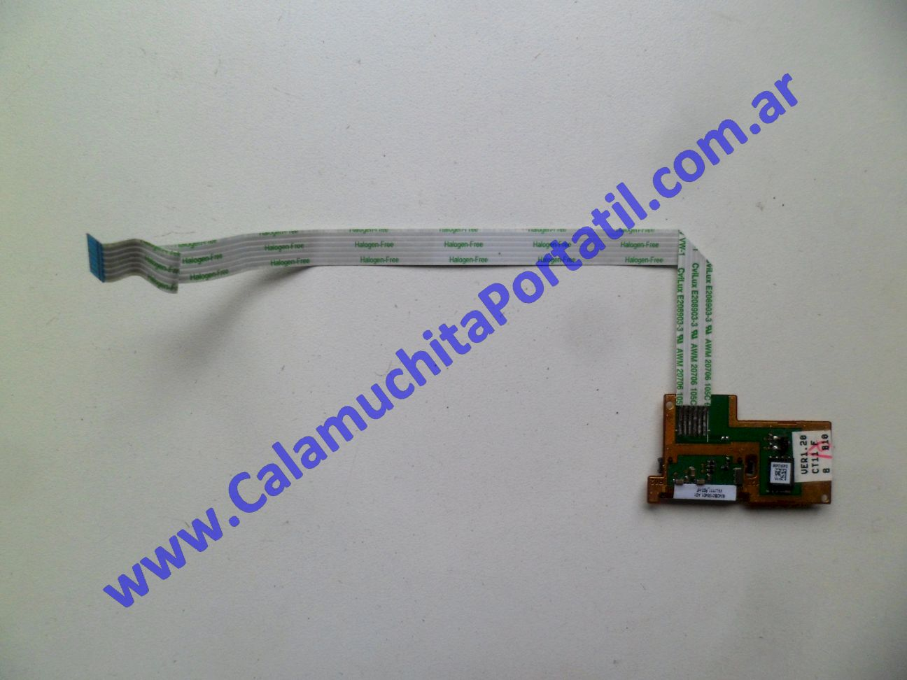 0419PFP Placa FingerPrint Hewlett Packard EliteBook 8460p / SM996UC#ABD