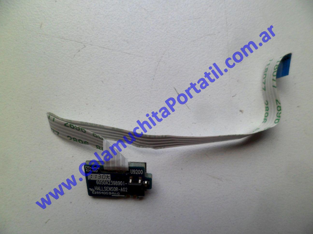 0419XID Interruptor Display Hewlett Packard EliteBook 8460p / SM996UC#ABD