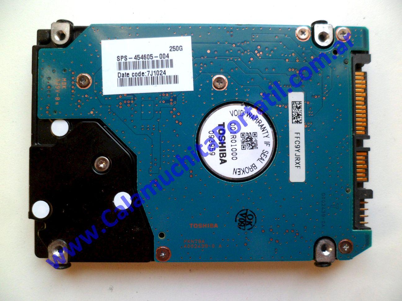 0425HDA Disco Rígido Compaq Presario CQ40-630la / WD222LA#AC8