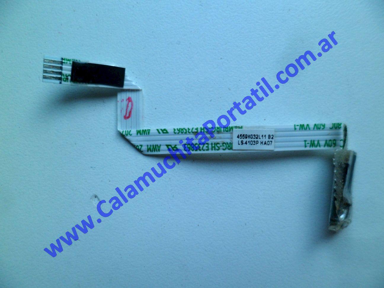 0425XID Interruptor Display Compaq Presario CQ40-630la / WD222LA#AC8